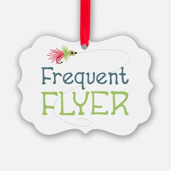 Frequent Flyer Ornament