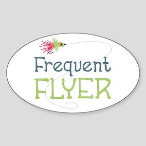 Frequent Flyer Sticker