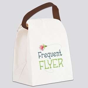 Frequent Flyer Canvas Lunch Bag