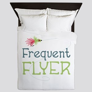 Frequent Flyer Queen Duvet