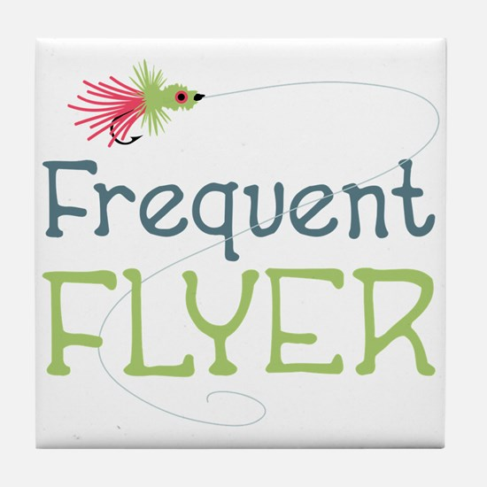 Frequent Flyer Tile Coaster