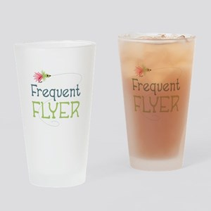 Frequent Flyer Drinking Glass