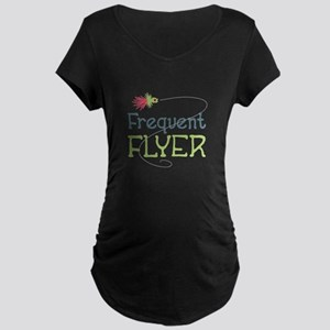 Frequent Flyer Maternity T-Shirt