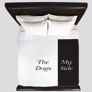 The Dogs Side / My Side King Duvet