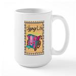 Bohemian Gypsy Chic Large Mug