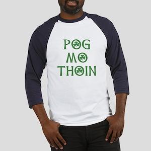 Pog Mo Thoin Shamrock Baseball Jersey
