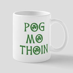 Pog Mo Thoin Shamrock Mug