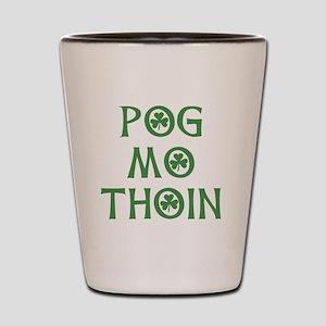 Pog Mo Thoin Shamrock Shot Glass