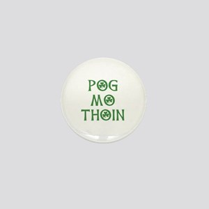 Pog Mo Thoin Shamrock Mini Button (10 pack)