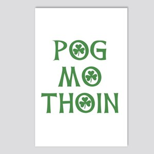 Pog Mo Thoin Shamrock Postcards (Package of 8)