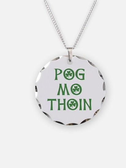Pog Mo Thoin Shamrock Necklace