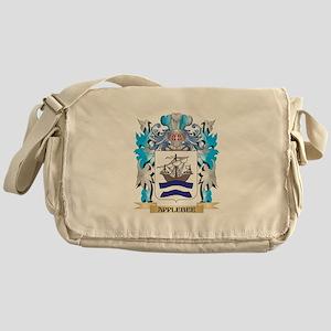 Applebee Coat Of Arms Messenger Bag