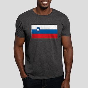 Slovenia Flag Dark T-Shirt