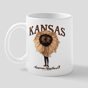Kansas Sunflower Umbrella Mug