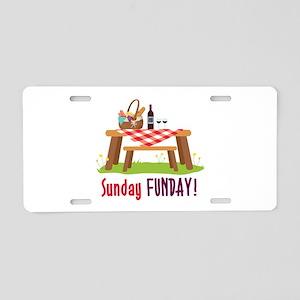 Sunday FUNDAY! Aluminum License Plate