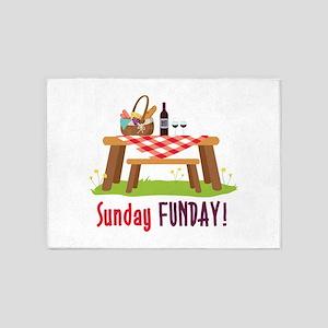 Sunday FUNDAY! 5'x7'Area Rug