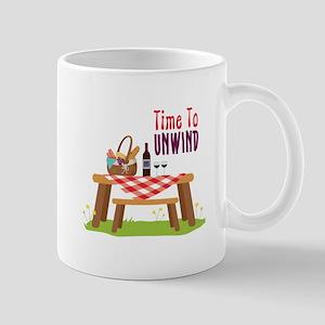 Time To UNWIND Mugs