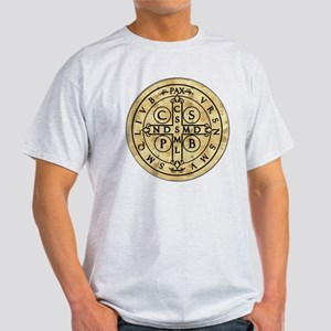 St. Benedict Medal Light T-Shirt