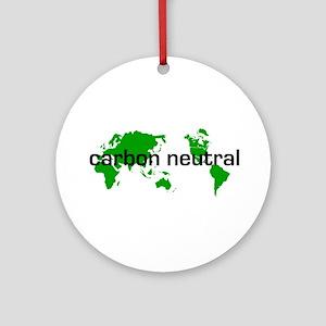 Carbon Neutral Ornament (Round)