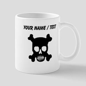 Custom Skull And Crossbones Mugs