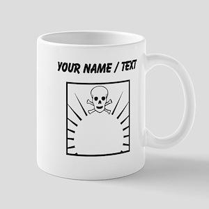Custom Sunrise Skull Mugs