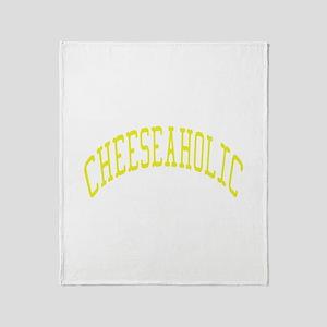 Cheeseaholic Throw Blanket