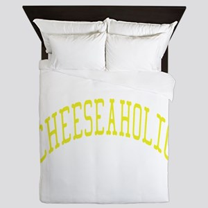 Cheeseaholic Queen Duvet