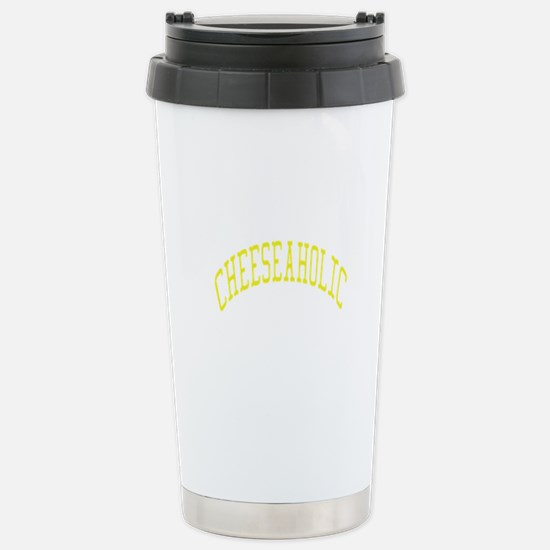 Cheeseaholic Stainless Steel Travel Mug