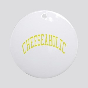 Cheeseaholic Ornament (Round)