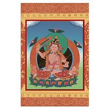 Buddha Tangka Large Poster
