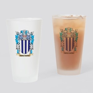 Armstrong Coat Of Arms Drinking Glass