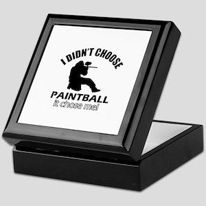 paintball Designs Keepsake Box