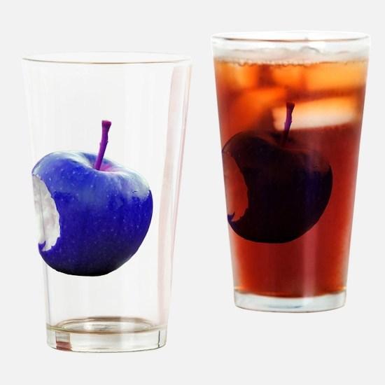 Blue apple Drinking Glass