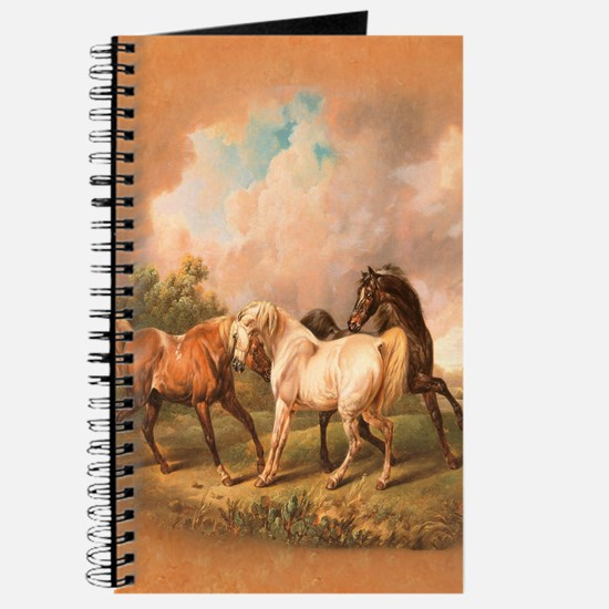 Stallion Horse Trio Journal