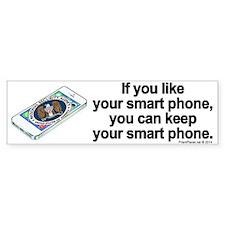 NSA Smart Phone Bumper Sticker