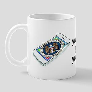 NSA Smart Phone Mug