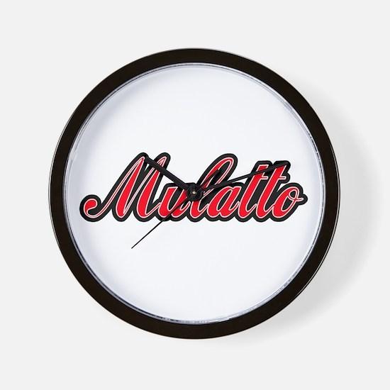 Mulatto Wall Clock
