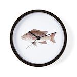 Cubera Snapper Wall Clock