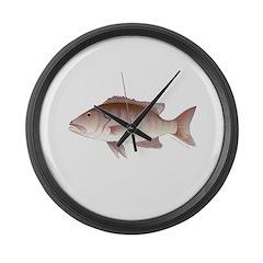 Cubera Snapper Large Wall Clock