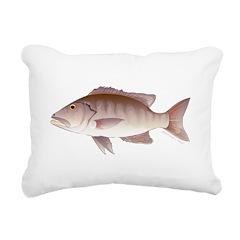 Cubera Snapper Rectangular Canvas Pillow