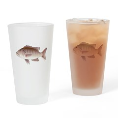 Cubera Snapper c Drinking Glass