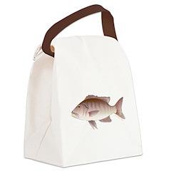 Cubera Snapper c Canvas Lunch Bag