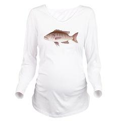 Cubera Snapper c Long Sleeve Maternity T-Shirt