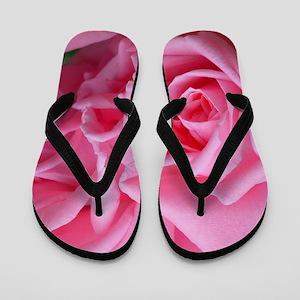 d12c66f141f6b Rose Bud Rosebud Flip Flops - CafePress