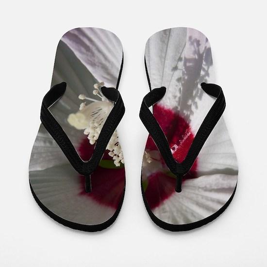 Hibiscus Flower Flip Flops