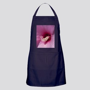 Hibiscus Flower Apron (dark)