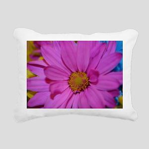 Purple Flower Rectangular Canvas Pillow