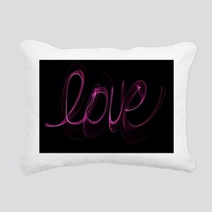 Love Valentine  Rectangular Canvas Pillow