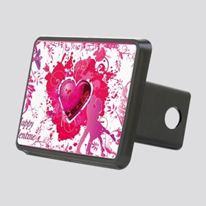 Love and Valentine Day Rectangular Hitch Cover
