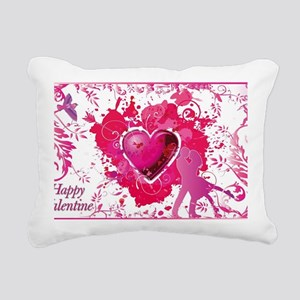 Love and Valentine Day Rectangular Canvas Pillow